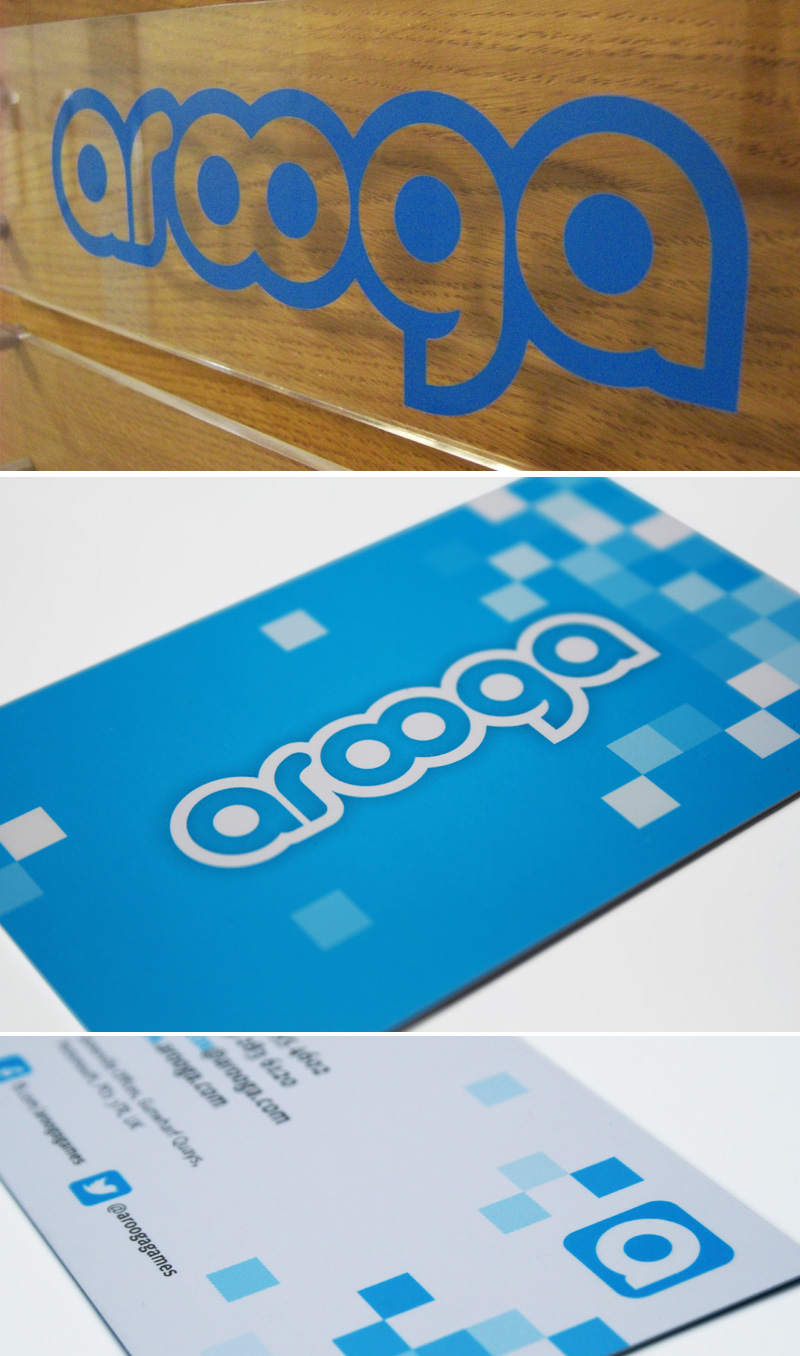 ocean blue design arooga logo. Black Bedroom Furniture Sets. Home Design Ideas